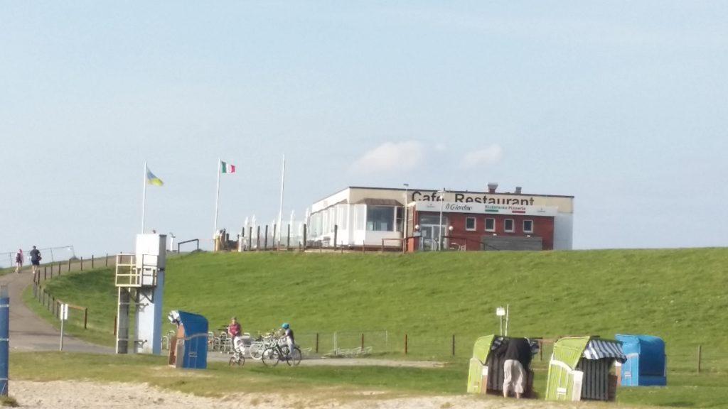 Ehemalige Strandhalle Tossens