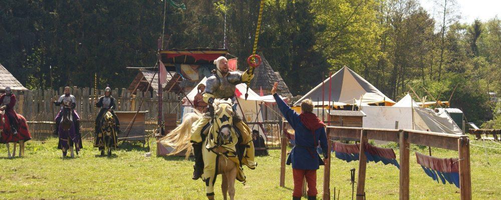 Ritterspiele in Tossens